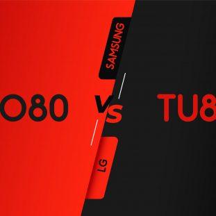 مقایسه تلویزیون های Tu8000 سامسونگ و Nano80 ال جی